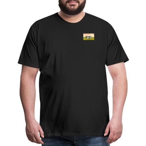 1SingleCow - Men's Premium T-Shirt