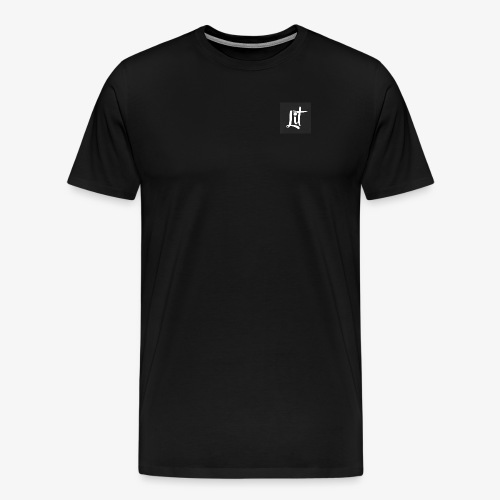 lit logo chest mens premium t shirt - Men's Premium T-Shirt
