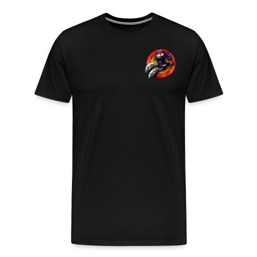Groovy Ninja Logo - Men's Premium T-Shirt