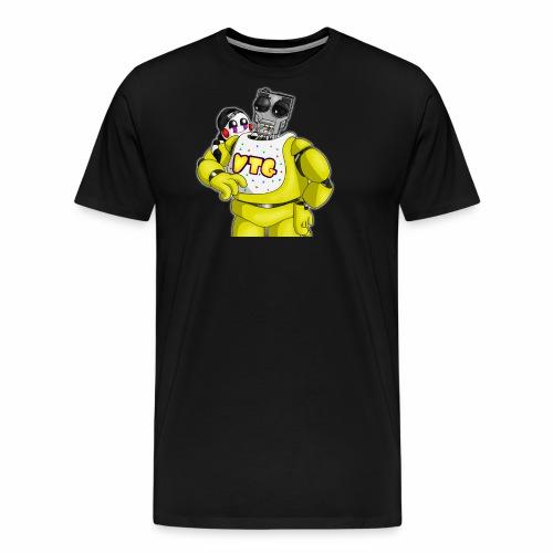 Mary and Chica by Dragonalfa - Men's Premium T-Shirt