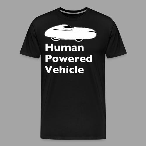 Quest Human Powered Vehicle 2 white - Men's Premium T-Shirt