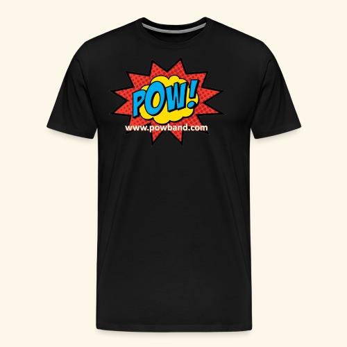 POW! Logo Shirt - Men's Premium T-Shirt