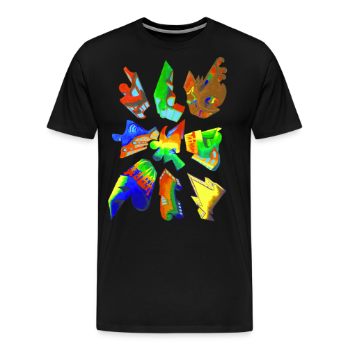 Abstract by Gumdrop - Men's Premium T-Shirt