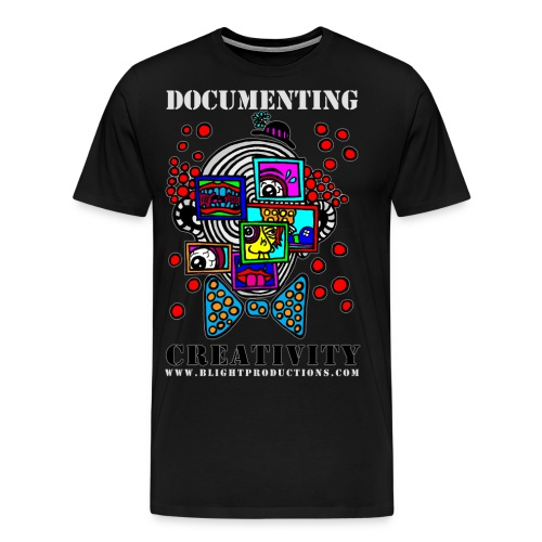 Documenting Creativity Color - Men's Premium T-Shirt