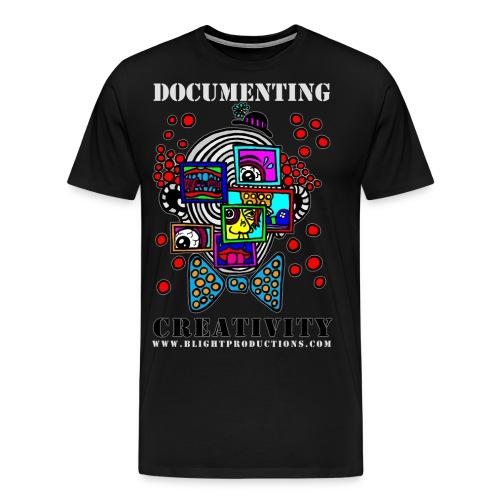 Documenting Creativity Color - Men's Premium T-Shirt