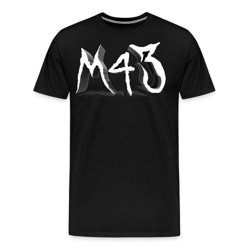 M43 Logo 2018 - Men's Premium T-Shirt