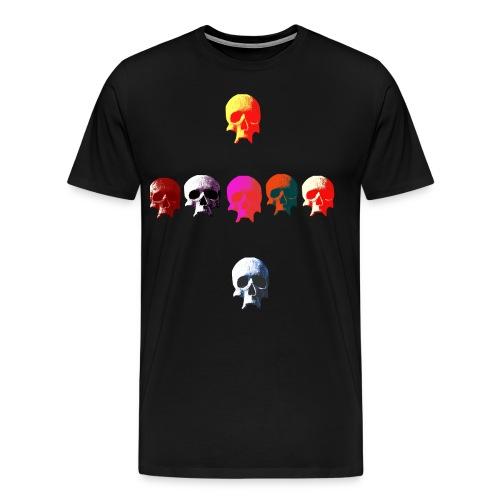 skull cross - Men's Premium T-Shirt