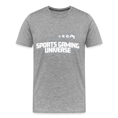 SGU Logo 18 T Shirt Grey - Men's Premium T-Shirt