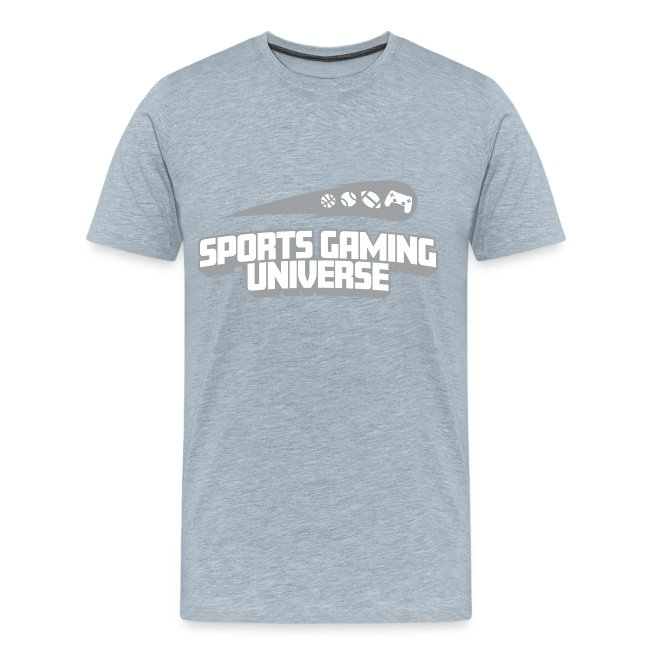 SGU Logo 18 T Shirt Grey