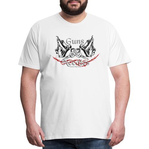Guns & Needles - Men's Premium T-Shirt