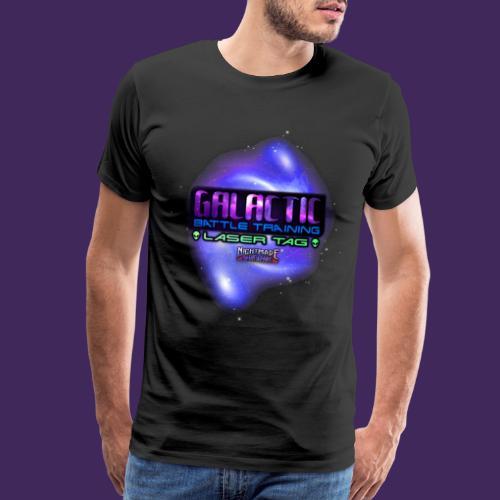 Galactic Battle Training Achievement - Men's Premium T-Shirt