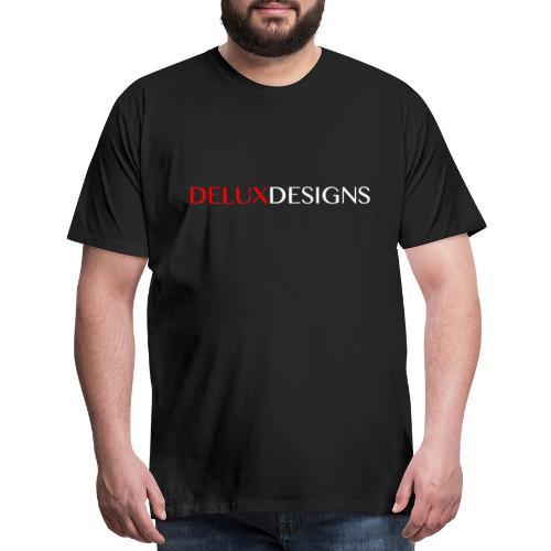 Delux Designs (white) - Men's Premium T-Shirt