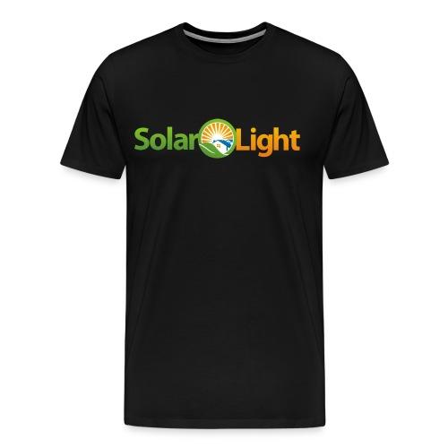 Solar Light Logo only - Men's Premium T-Shirt