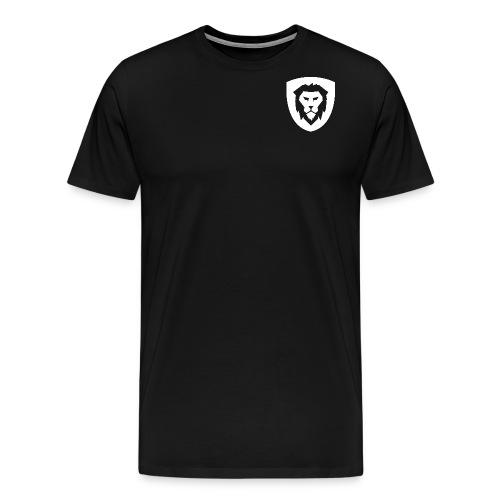 Lion Logo Design - Men's Premium T-Shirt