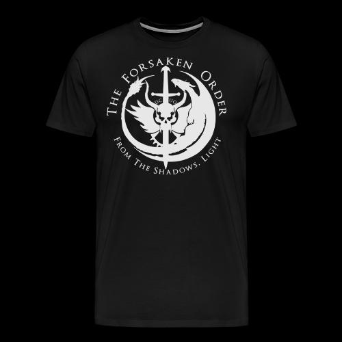 TFO White Logo - Premium Products - Men's Premium T-Shirt