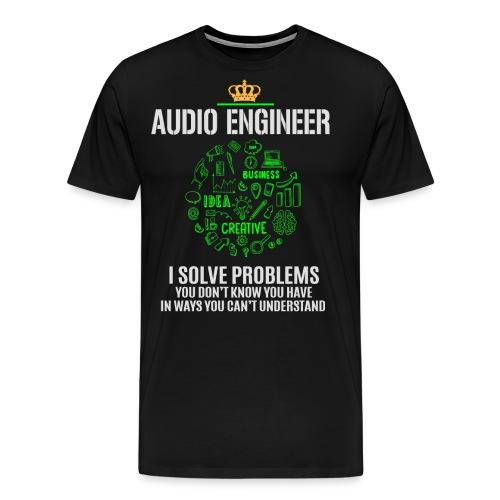 AUDIO ENGINEER - Men's Premium T-Shirt