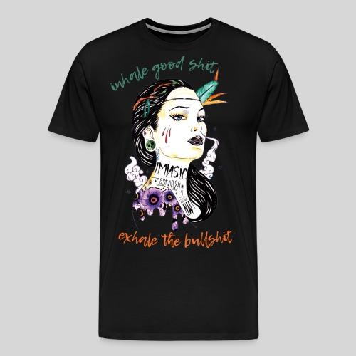 Inhale/Exhale - Men's Premium T-Shirt