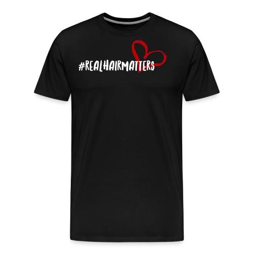 Real Hair Matters - Men's Premium T-Shirt