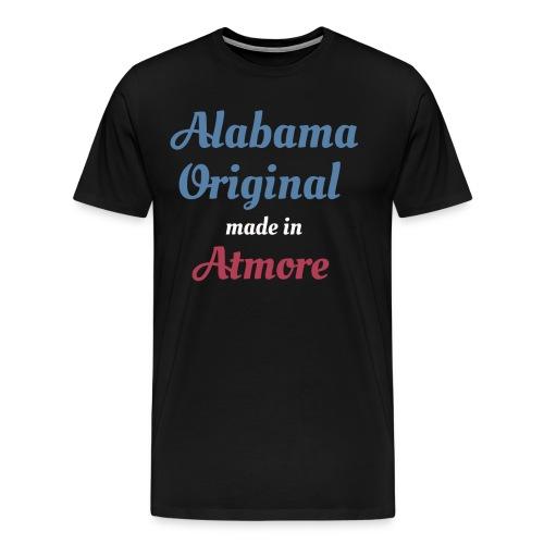 Alabama Original Made In Atmore Funny Born In - Men's Premium T-Shirt
