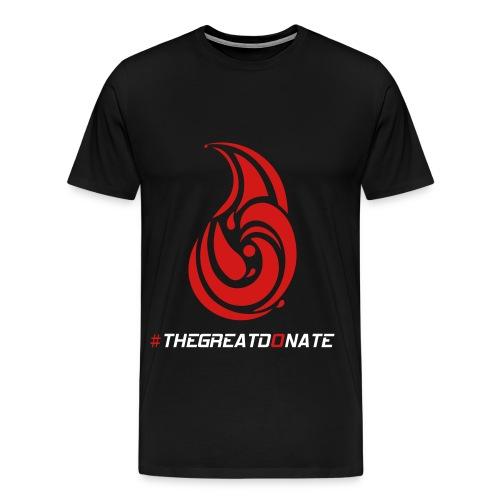 #THEGREATDONATE - Men's Premium T-Shirt