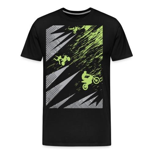 Motocross Dirt Bike Apparel - Men's Premium T-Shirt