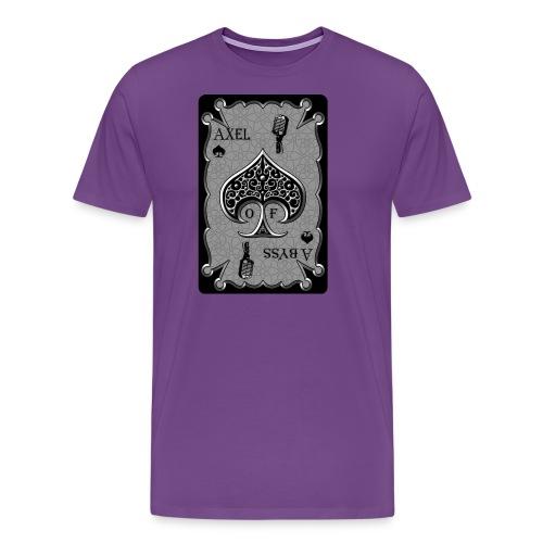 Axelofabyss Spade Card - Men's Premium T-Shirt