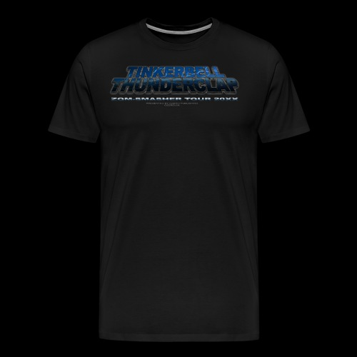 tinkerbellthunderclap spreadshirt copy png - Men's Premium T-Shirt