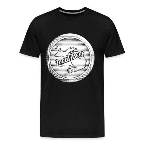 Michigan Drink Local design Gift for MI Craft - Men's Premium T-Shirt