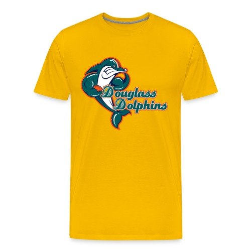 Douglass Dolphins 2 - Men's Premium T-Shirt