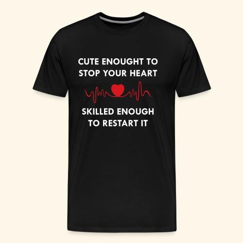I am a nurse - 2 - Men's Premium T-Shirt