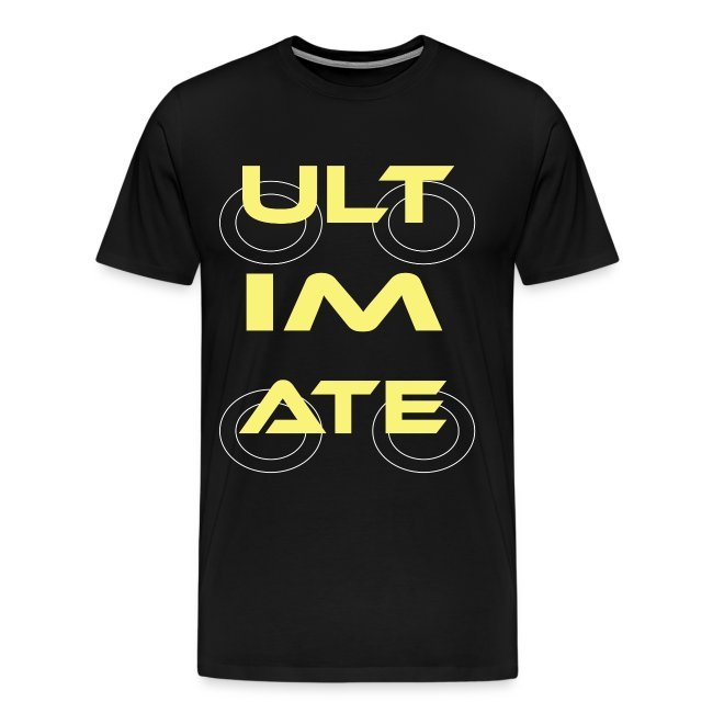 Ultimate Frisbee T-Shirt: ULTIMATE