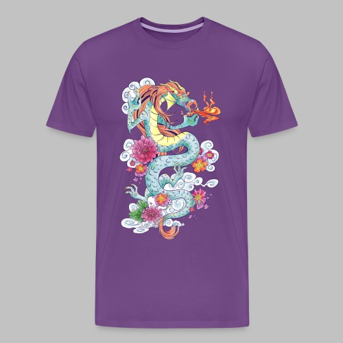 Nash's Dragon - Men's Premium T-Shirt