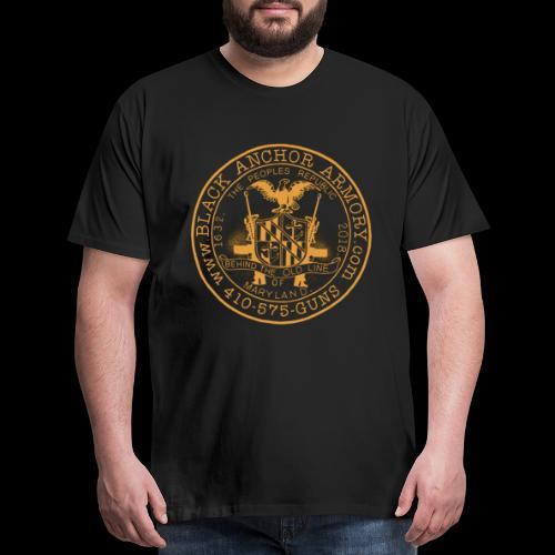 Black Anchor Armory Peoples Republic - Men's Premium T-Shirt