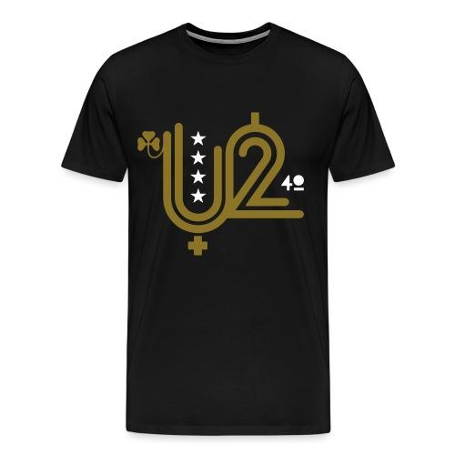 Microphone 240-version 3- - Men's Premium T-Shirt