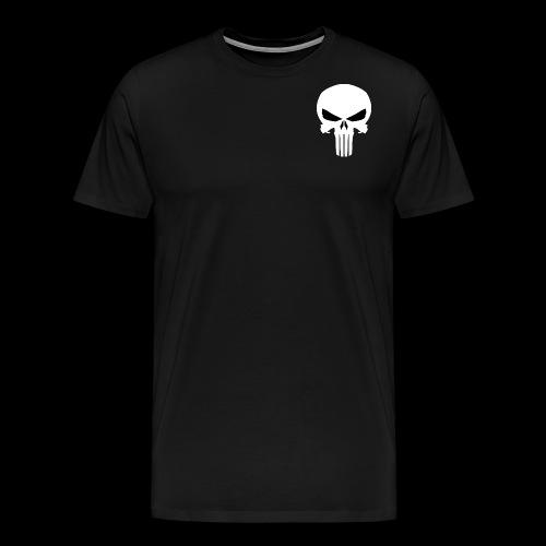 punisher skull 1 by jmk prime d7lcwck png - Men's Premium T-Shirt