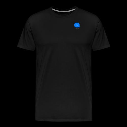 k. - Men's Premium T-Shirt