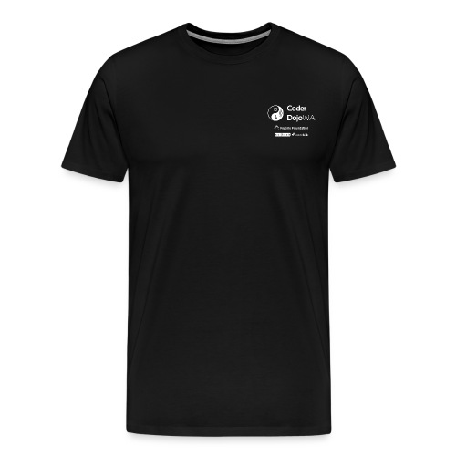 CoderDojoWA and Partners - Men's Premium T-Shirt