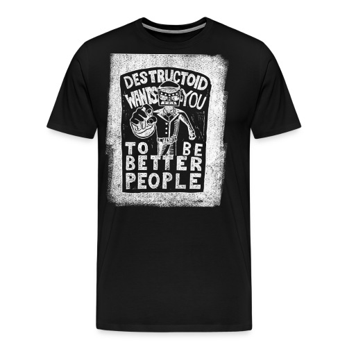 Be Inverted People - Men's Premium T-Shirt