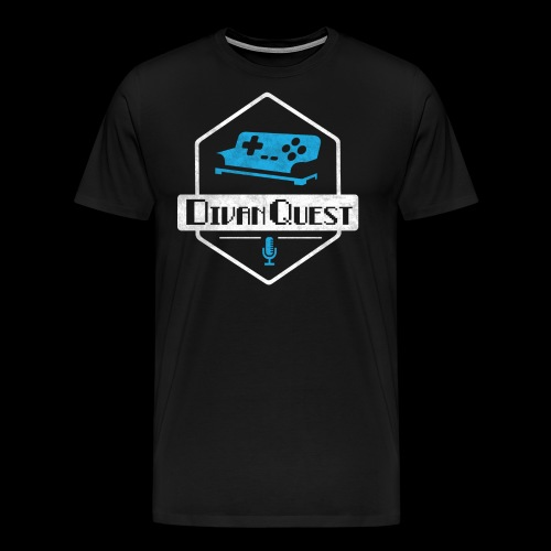DivanQuest Logo (Badge) - Men's Premium T-Shirt