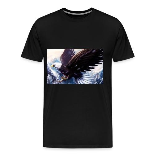 Art of the eagle - Men's Premium T-Shirt