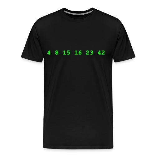 4 8 15 16 23 42 Lost - Men's Premium T-Shirt