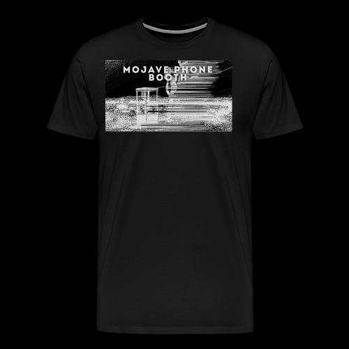 mojave phone booth - Men's Premium T-Shirt