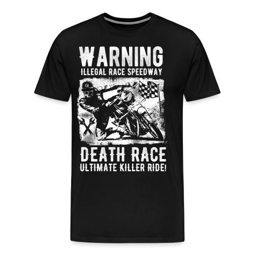Motorcycle Death Race - Men's Premium T-Shirt