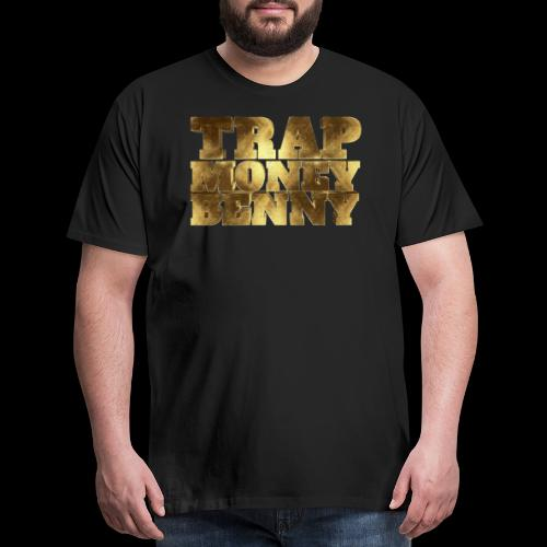 Golden Trap Money Benny Typo - Men's Premium T-Shirt