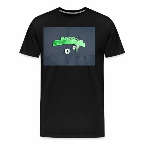 3D Mockup - Men's Premium T-Shirt