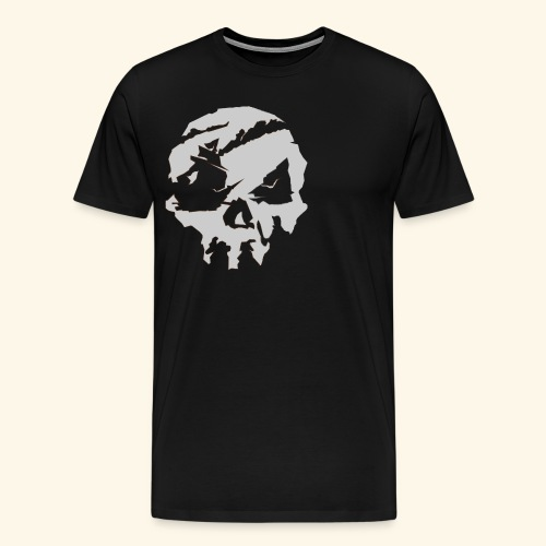Sea of Thieves Inspired Skull - Men's Premium T-Shirt