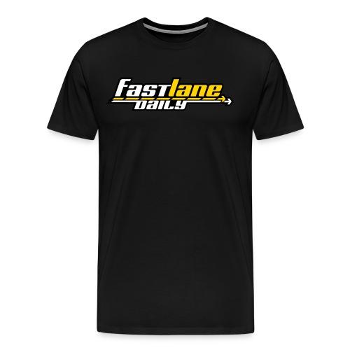 Fast Lane Daily logo in 3 colors! - Men's Premium T-Shirt