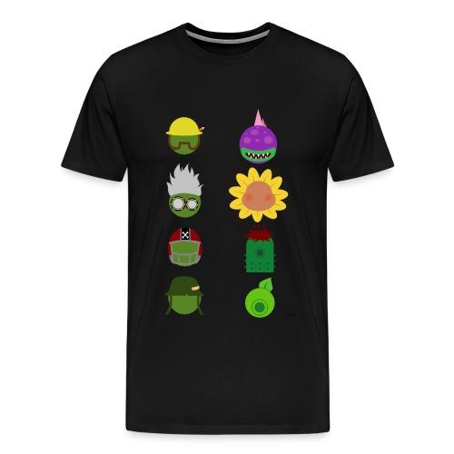Simply PvZGW Characters - Men's Premium T-Shirt