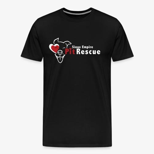 White SEPR Logo - Men's Premium T-Shirt
