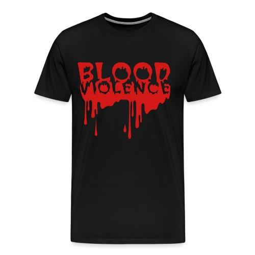 blood violence - Men's Premium T-Shirt